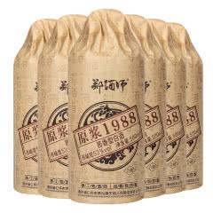53°贵州茅台镇 郑酒师 原浆1988 酱香型白酒 固态纯粮 白酒整箱500ml*6瓶