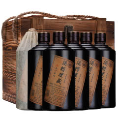 53°贵州酱香型白酒 酒糟埋藏500ml*6木箱装