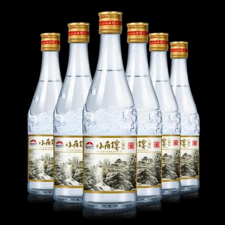52° 四川白酒小角楼 二锅头浓香型整箱白酒 500ml*6瓶装