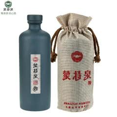 52°内蒙古蒙特泉君子兰纯粮食白酒 浓香型白酒五粮精酿 500ml单瓶装