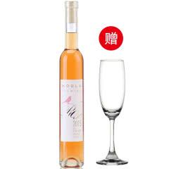 慕拉(MOULA)冰酒 玫瑰酿甜型白葡萄酒单支装375ml
