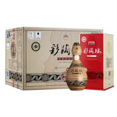 河南酒 仰韶彩陶坊白酒46度+70度彩陶坊人和450ml+50ml 组合装6瓶整箱装