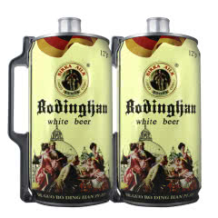 德国风味啤酒 2L桶装白啤 麦香原浆精酿 2000ml*2桶 畅饮桶