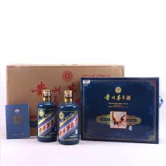 53°贵州茅台酒丁酉鸡年生肖纪念酒(2017年)375ml*2瓶*4盒
