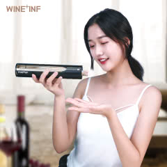 威尔弗(WINE+INF)感应式红酒开瓶器电动 金色