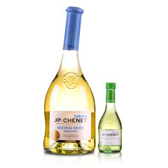 法国香奈半甜白葡萄酒750ml+香奈鸽笼白霞多丽白葡萄酒187ml