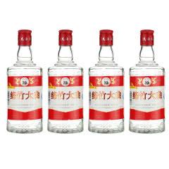 52度绵竹大曲红标高度浓香型白酒泡药酒500ml*4瓶组合