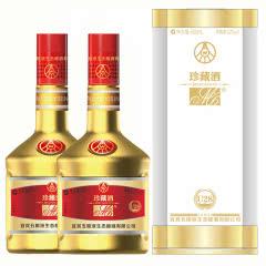 【2017年老酒】52°五粮液生态酿酒M6珍藏酒U28 竹荪酒金瓶纯粮酒500ml(2瓶)