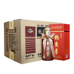 53°钓鱼台 国宾酒 酱香型礼盒白酒整箱 500ml*6瓶装