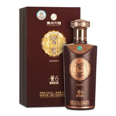53°茅台集团 贵州习酒 酱香型习窖酱6 白酒500ml*1 单瓶装