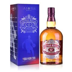 40°英国芝华士12年苏格兰威士忌1000mlNBA主题礼盒版