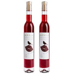 慕拉(MOULA)可可之吻巧克力微醺晚安酒双支红酒甜型葡萄酒375ml*2