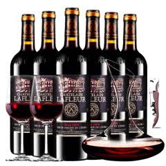 拉斐庄园2008特选干红葡萄酒红酒整箱醒酒器装750ml*6