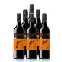 澳大利亚整箱红酒黄尾袋鼠缤纷系列梅洛红葡萄酒750ml*6