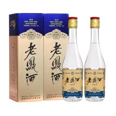 52度 老凤酒 1988蓝标高脖浓香型 纯粮食白酒500ml*2 双瓶装