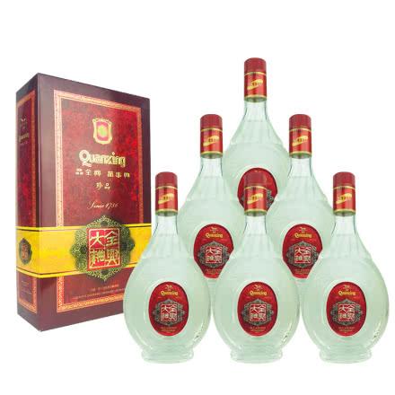 融汇老酒 52º全兴大曲酒 礼盒500ml(6瓶装)1999年