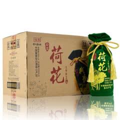 53°贵州茅台镇荷花酒酱香型白酒礼品酒送礼酒精装白酒整箱500ml*6瓶装