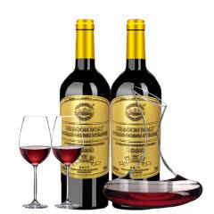 法国原瓶进口红酒 龙船远洋号·拉菲城堡干红葡萄酒750ml*2