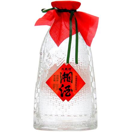 54度凤凰情湘酒兼香型纯粮食白酒500ml单瓶装