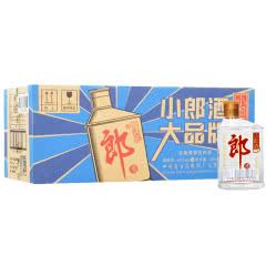 45°郎酒 小郎酒 兼香型白酒歪嘴郎整箱100ml(24瓶装)