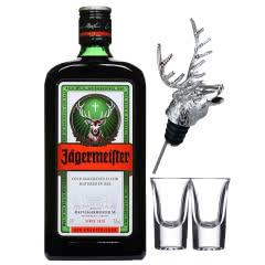 野格(Jagermeister)洋酒 德国进口 野格酒 野格利口酒700ml