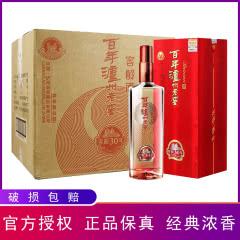 38°百年泸州老窖 浓香型白酒 窖龄30年500ml (6瓶装)