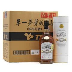46°台湾OMAR单一麦芽威士忌波本花香700ml整箱(6瓶装)