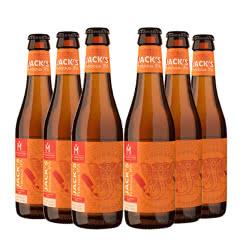 比利时进口精酿啤酒火枪手游吟诗人珍贵IPA精酿啤酒330ml(6瓶装)