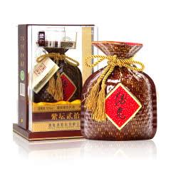 52度酒鬼酒 柔和紫坛 馥郁香型国产高度白酒500ml单瓶装