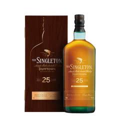 43°苏格登25年(步步高登)单一麦芽威士忌新春礼盒700ml