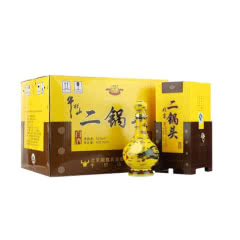 52°牛栏山经典二锅头黄龙500ml(6瓶装)