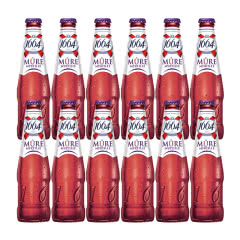 法国进口克伦堡凯旋1664啤酒 蓝莓味果味啤酒250ml(12瓶装)