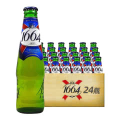 法国进口克伦堡凯旋1664啤酒 黄啤 250ml(24瓶装)