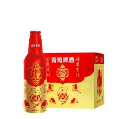 青岛啤酒鼠年版鸿运当头铝罐355ml*12瓶整箱装