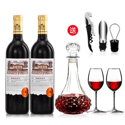 罗蒂庄园帕桐干红葡萄酒750ml*2瓶装