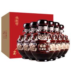 53°贵州酱香型白酒整箱粮食原浆酒坛装酒送礼收藏酒500ml*6