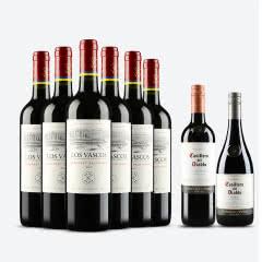 【拉菲正品 ASC防伪】智利原瓶进口红酒 拉菲巴斯克干红葡萄酒 整箱六支装 750ml*6