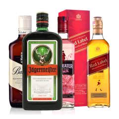 洋酒畅饮套装(4瓶装)