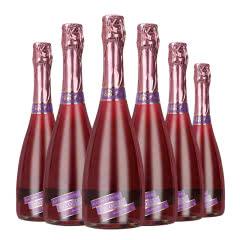 4.5度【蓝莓味】维科尼娅 甜型汽泡酒低度少女葡萄酒 730ml*6整箱装