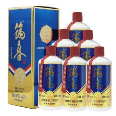 融汇陈年老酒 53度筑春酒 蓝标 酱香型500ml(6瓶装)2019年