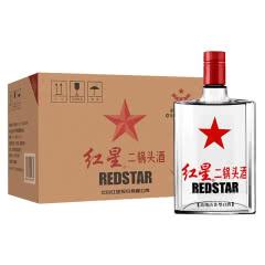 50°红星二锅头苏扁清香型白酒500ml(12瓶装)