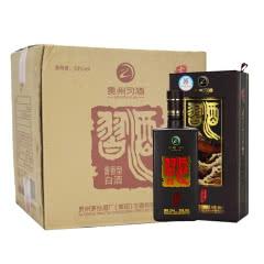 53°贵州茅台集团习酒 老方瓶 酱香型白酒礼盒装 500ml整箱装