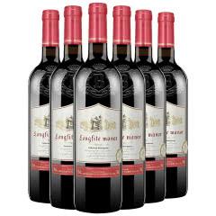 法国原酒进口红酒 波尔多传奇赤霞珠干红葡萄酒750ml*6瓶
