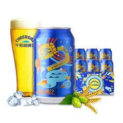 千岛湖啤酒8°P乐享时光拉罐330ml*6听