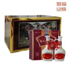 【整箱6盒】衡水老白干 47度谨制 双瓷瓶 215ml*2瓶*6