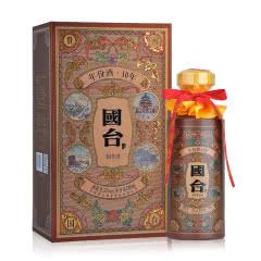 53°国台年份酒10年 酱香型白酒 500ml (单瓶装)