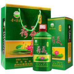 【酱香核心产区】杜酱荷花酒 53度香柔酱香型白酒 500ml(单瓶装)