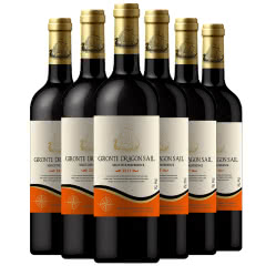 法国进口吉伦特龙船干红葡萄酒750ml(6瓶装)