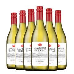 澳洲原瓶进口红酒 奔富洛神山庄霞多丽干白葡萄酒红酒整箱750ml*6