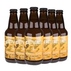 美人鱼金色港湾瓶装啤酒美国原装进口355ml*6瓶(六连包)
